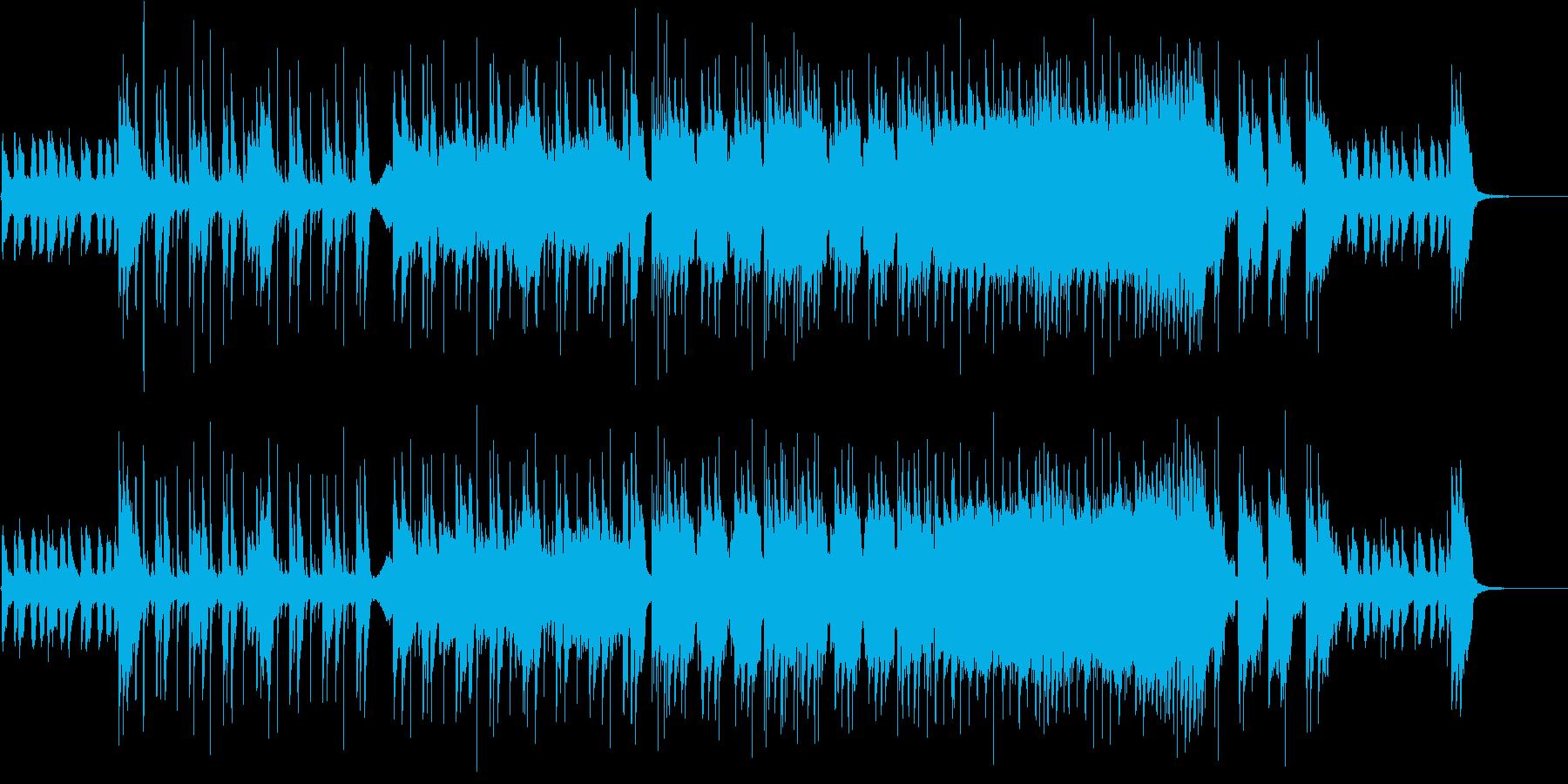 爽快なアメリカン風ポップロックの再生済みの波形
