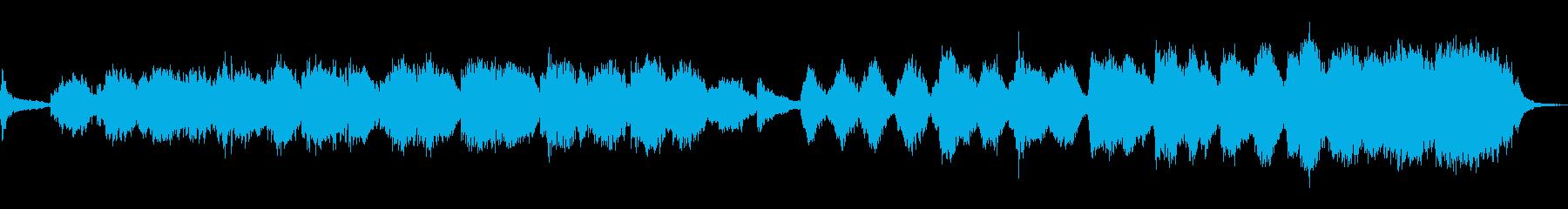 ダークでアダルトな曲の再生済みの波形