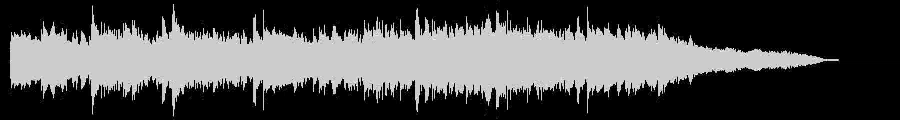 CM15秒、感動的なアコギとストリングスの未再生の波形