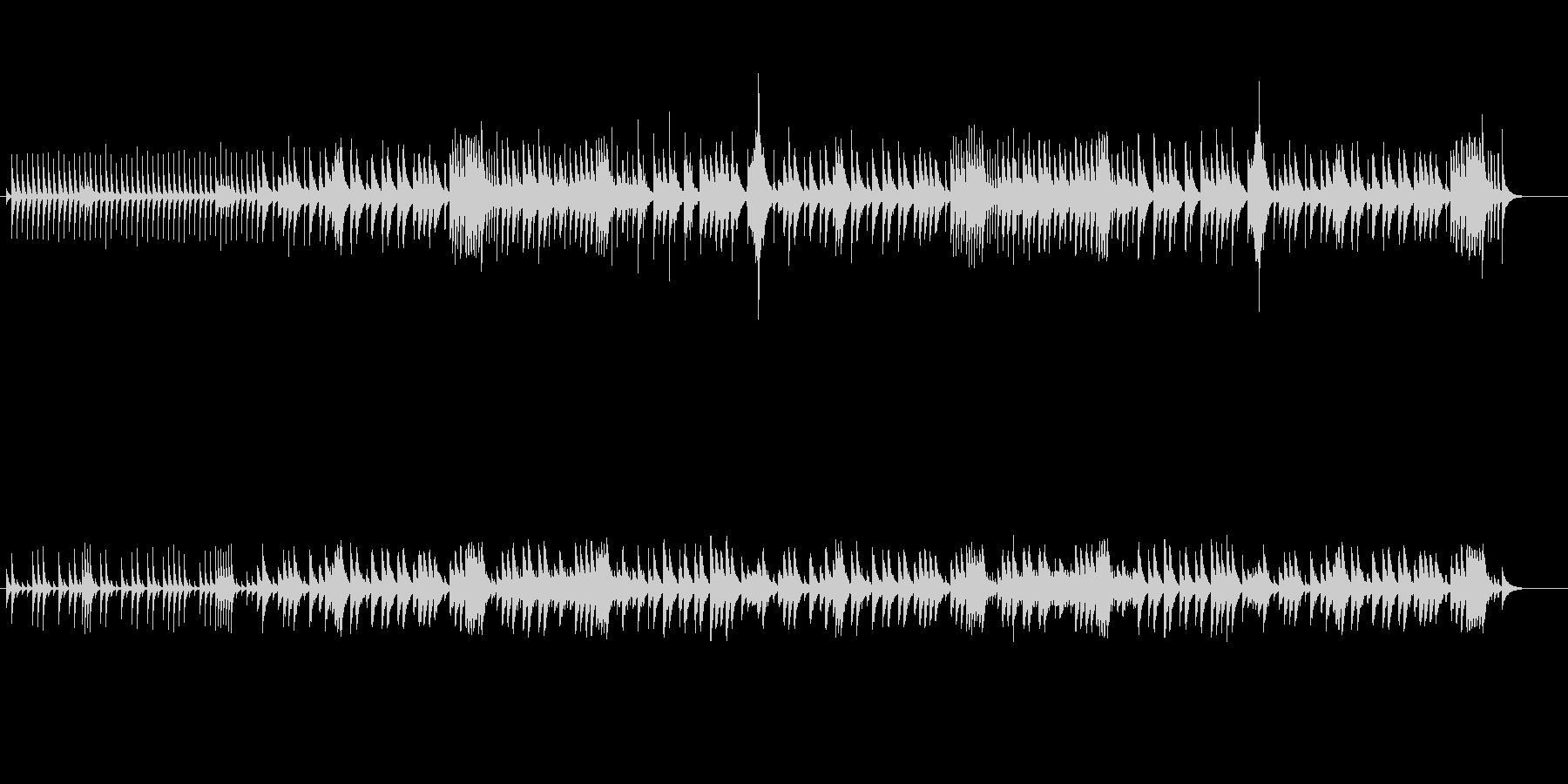 夜想曲-ショパン-のオルゴールの未再生の波形