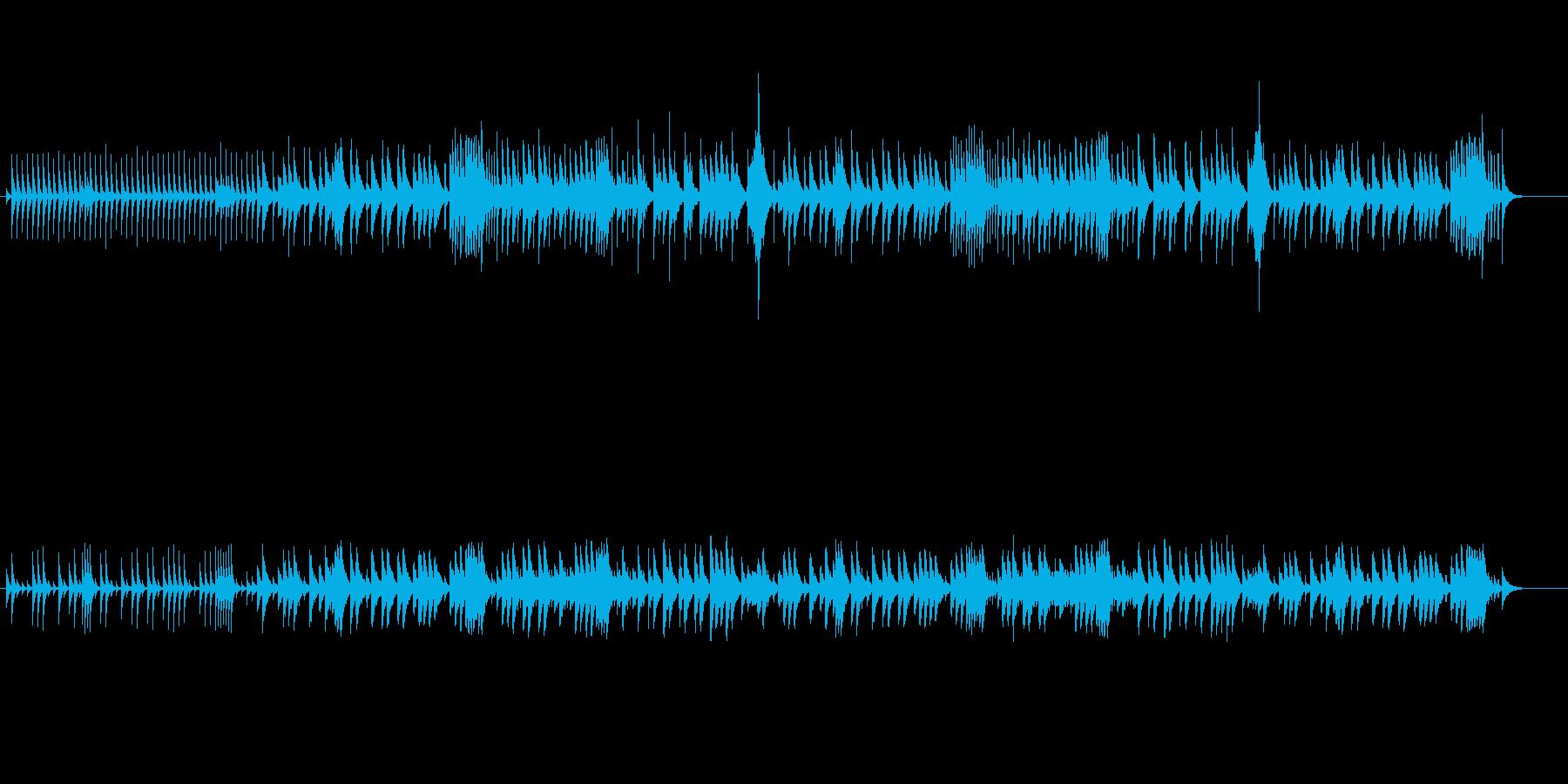 夜想曲-ショパン-のオルゴールの再生済みの波形