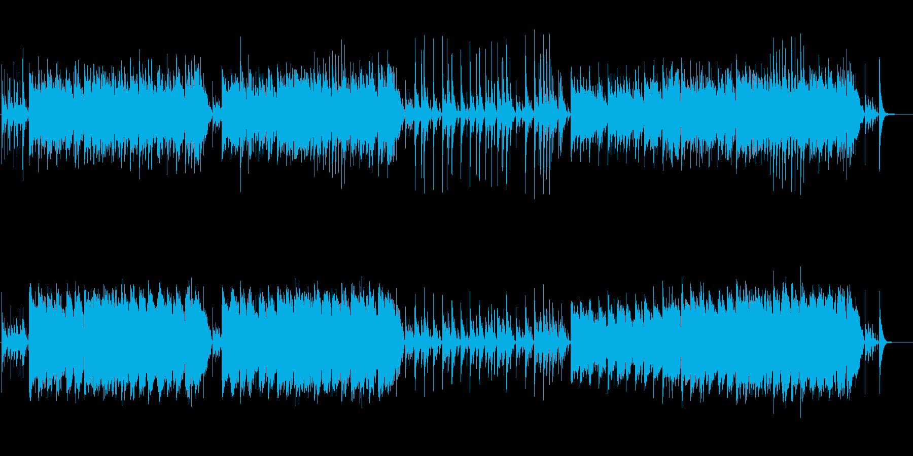 黄海伝来の舟歌風の再生済みの波形
