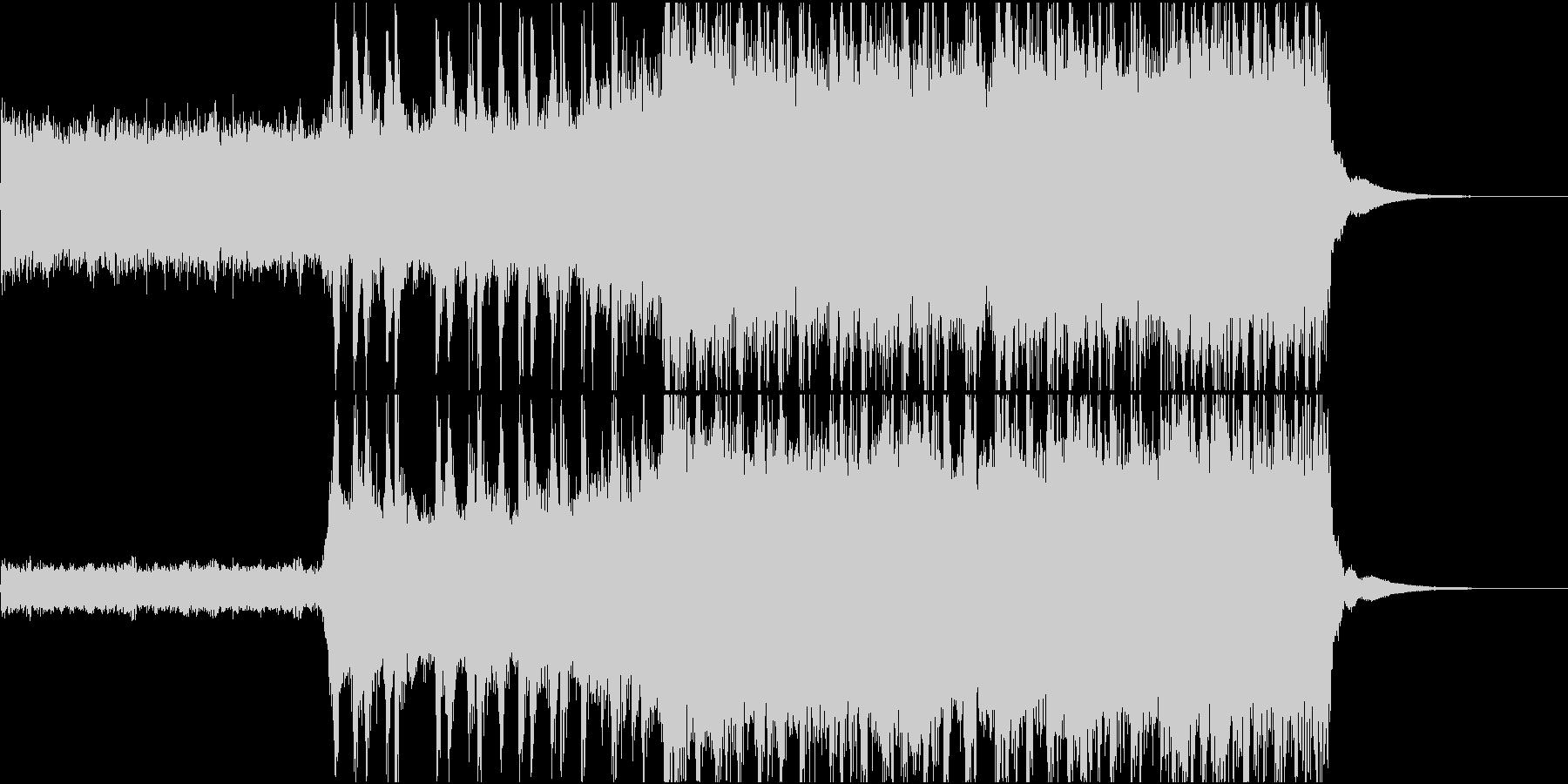 アジカンのような疾走感のあるギターロックの未再生の波形