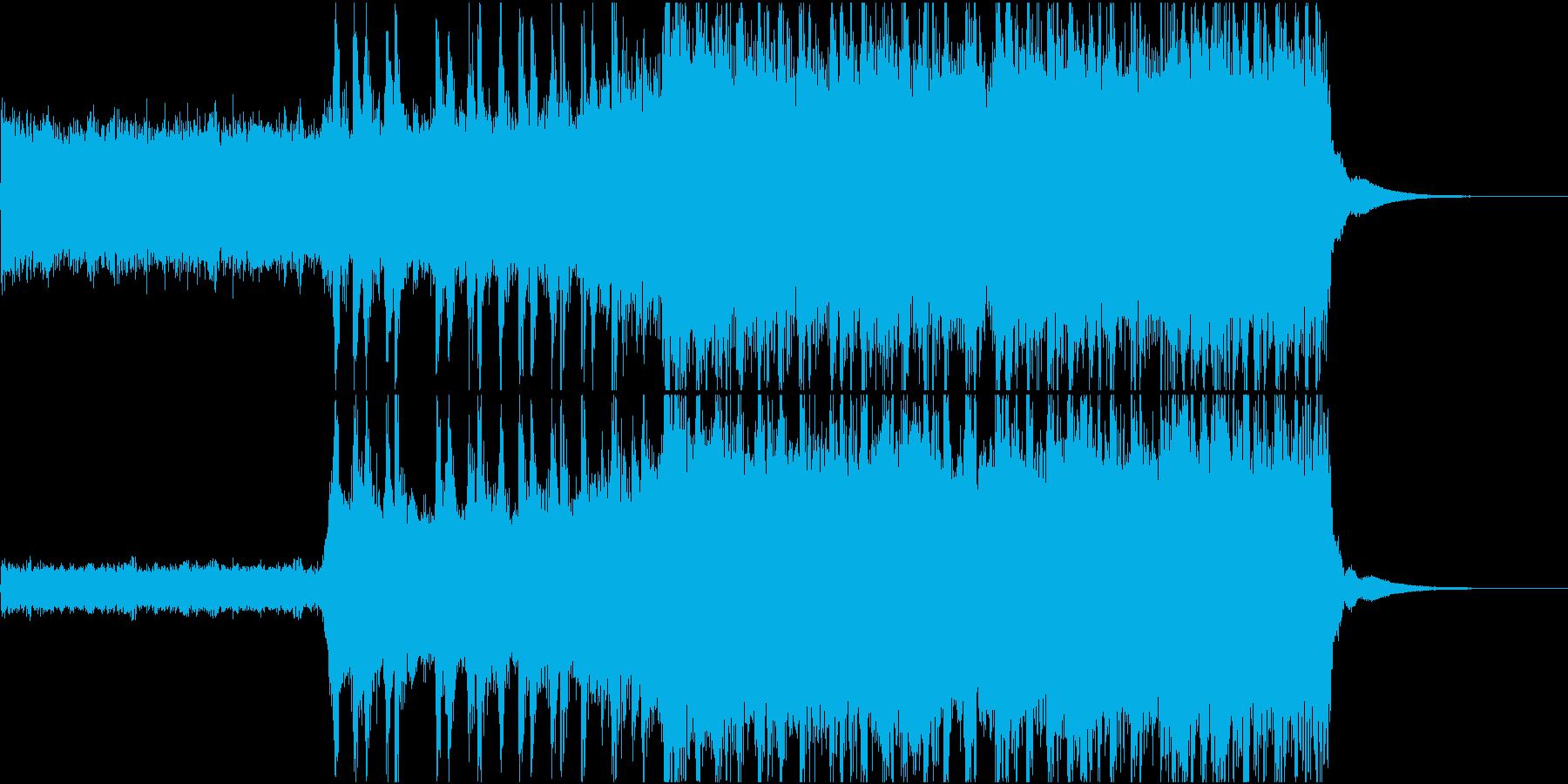 アジカンのような疾走感のあるギターロックの再生済みの波形