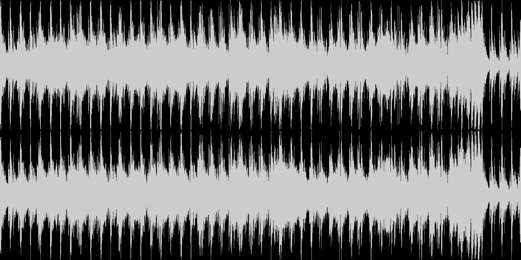 躍動感のある二枚目オーケストラの未再生の波形