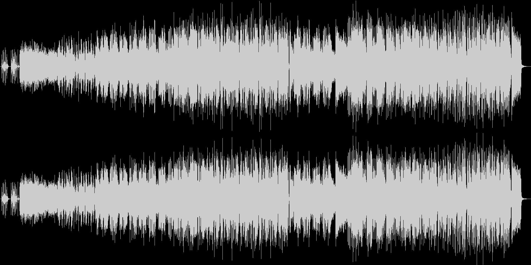 ファンキーでクールなブルースハードロックの未再生の波形