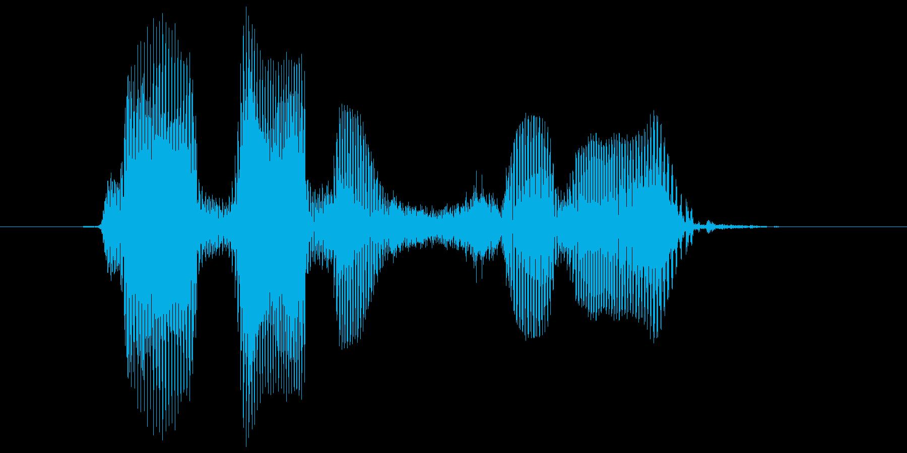 レベル3(スリー)の再生済みの波形