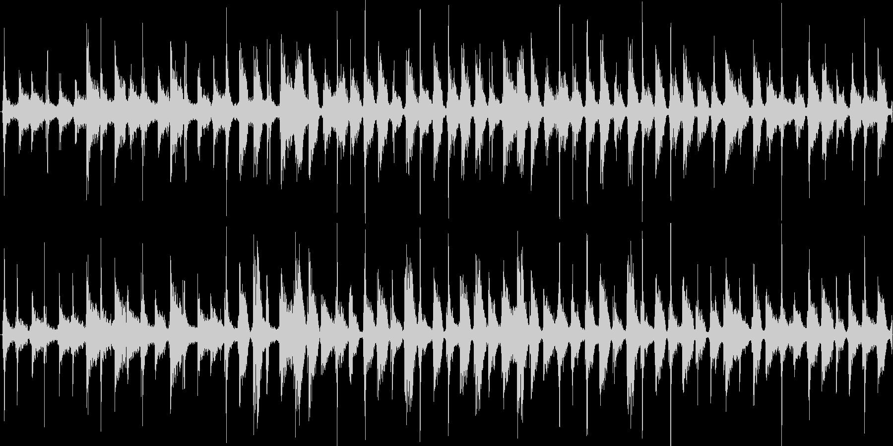 効果音をバラバラに音響編集した楽曲です。の未再生の波形