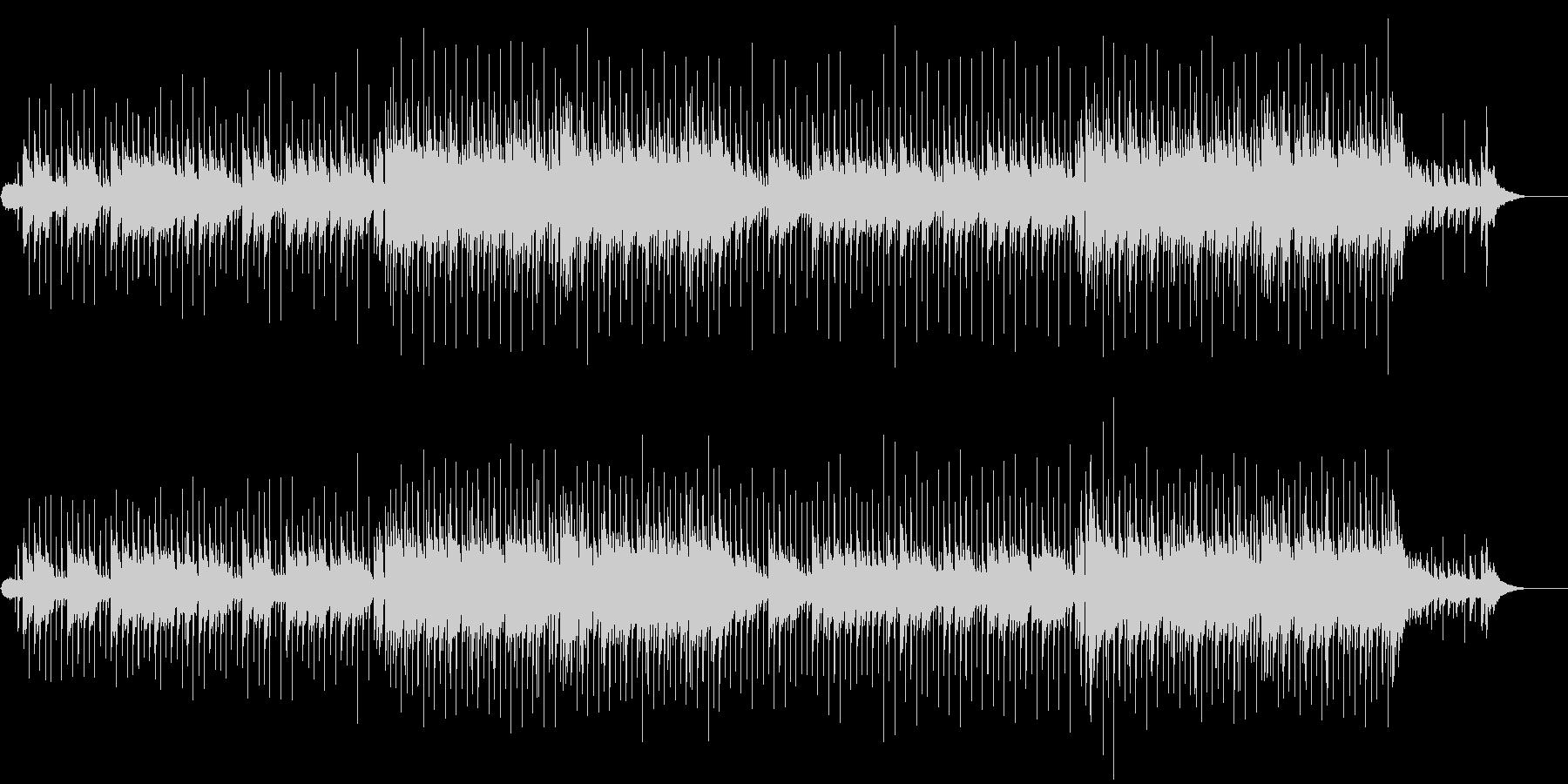 入場用ニューミュージック風バラードの未再生の波形