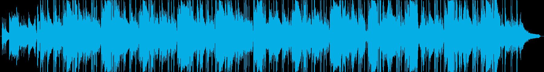 艶っぽいビートミュージック CM向けの再生済みの波形