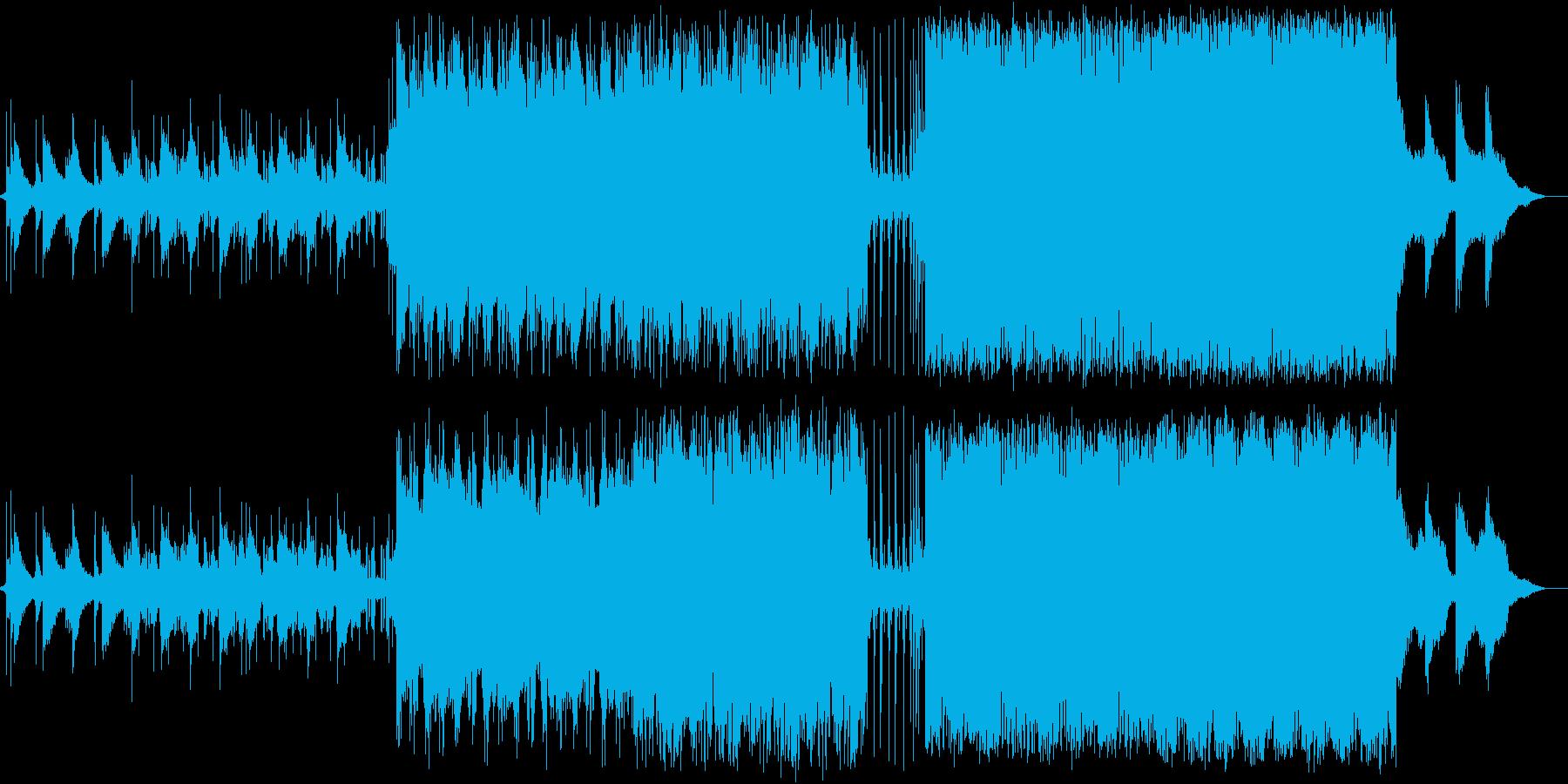 壮大な物語のようなバンドサウンドの再生済みの波形