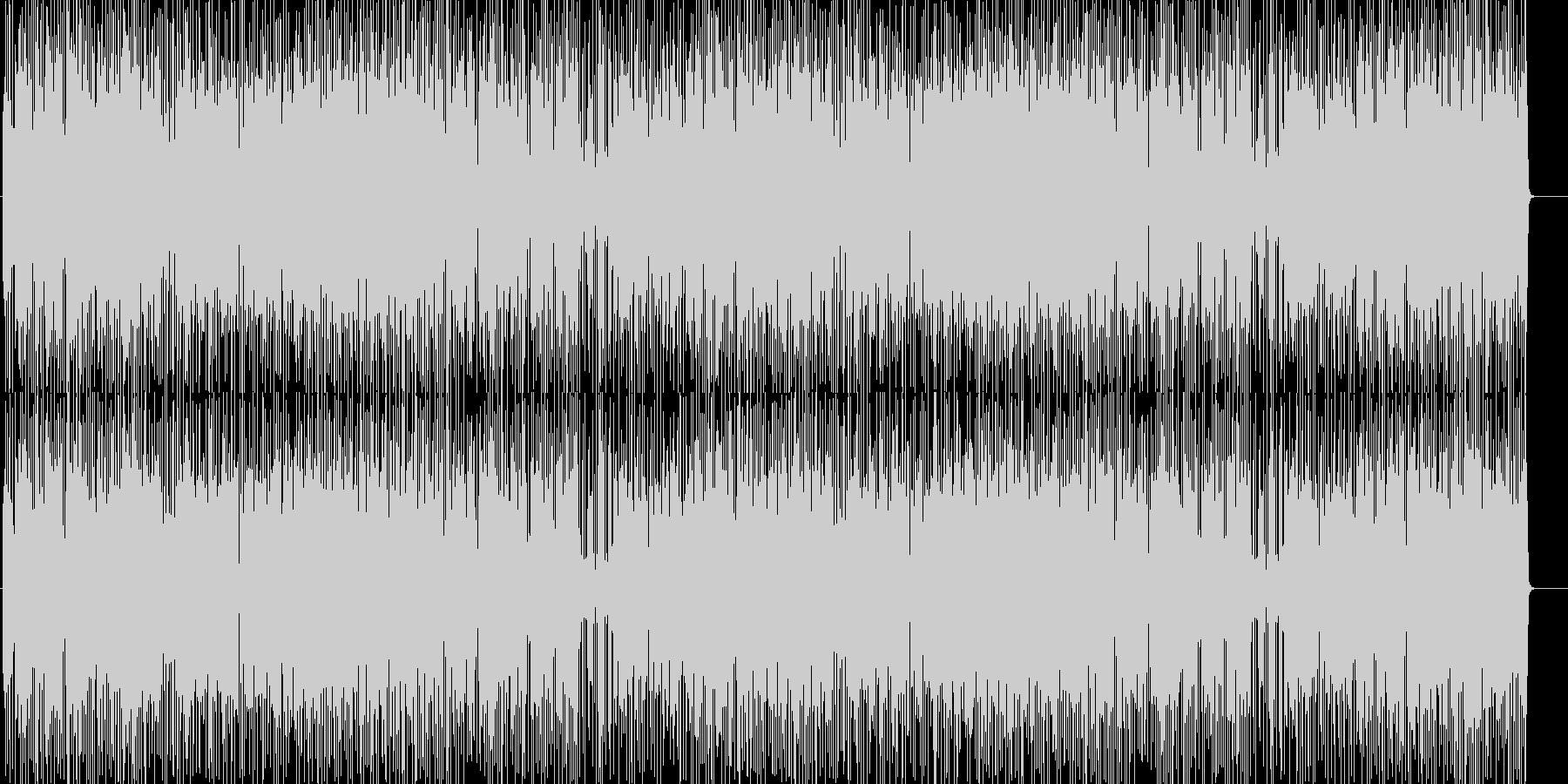 淡々 不思議 緊張 無機質 スリルの未再生の波形