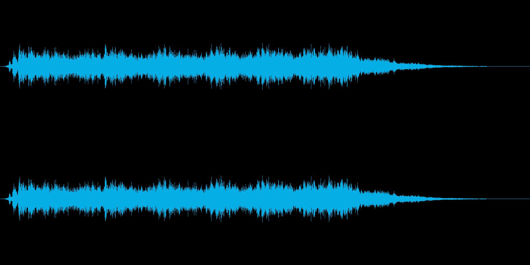 ジュルルルルルルとエネルギーが充填され…の再生済みの波形