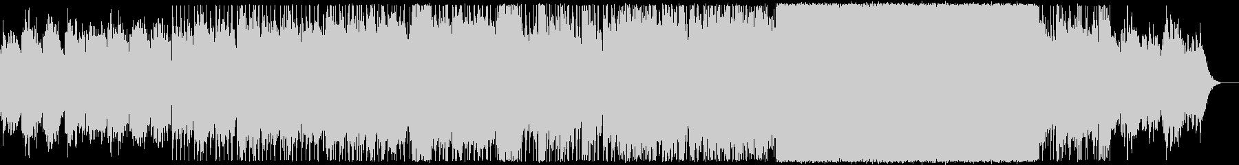 アンビエント/透明/優しい/風/電子音の未再生の波形