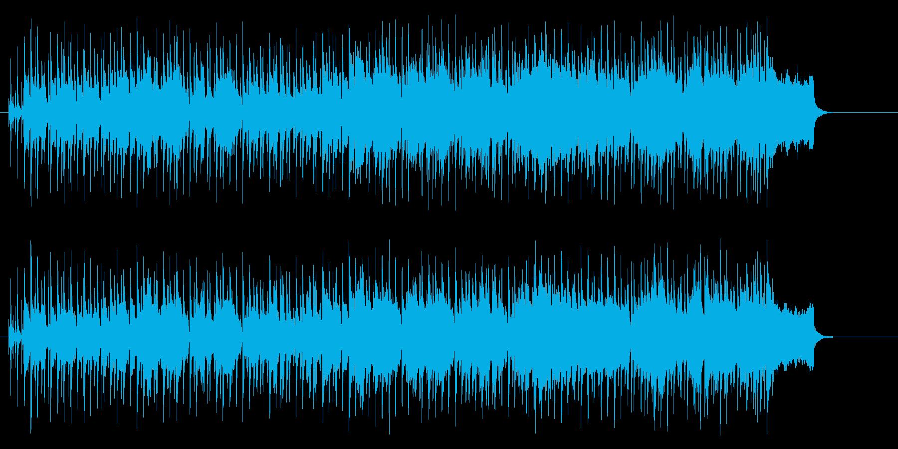 ポップ・レゲエ(明るく爽やかな感じ)の再生済みの波形