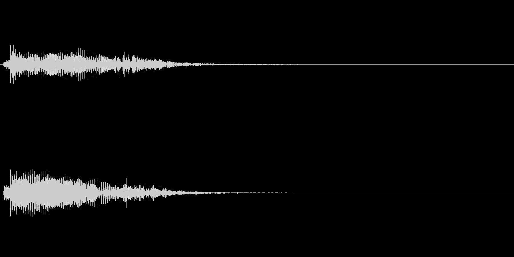 ピアノ SE02の未再生の波形