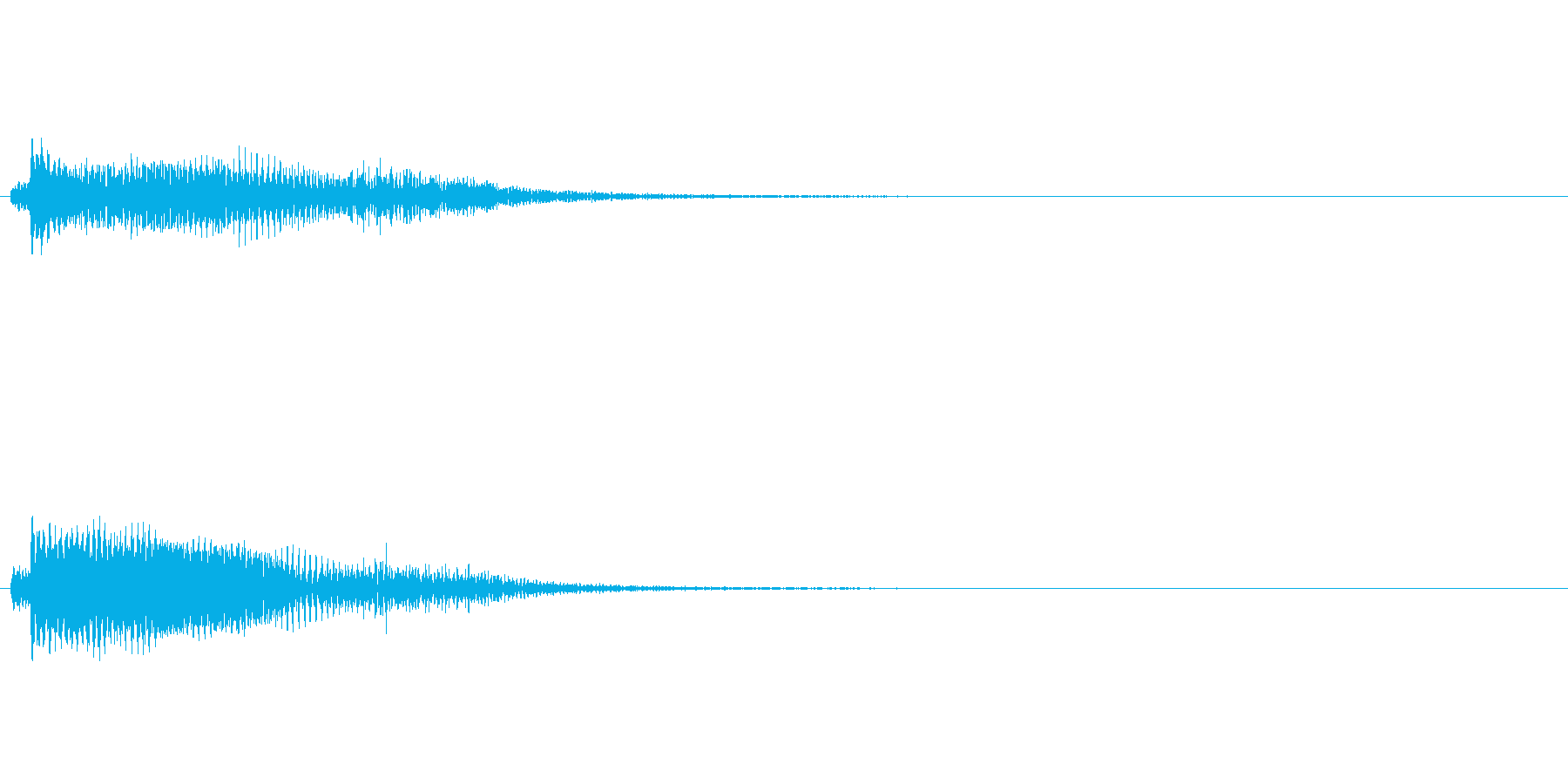 ピアノ SE02の再生済みの波形