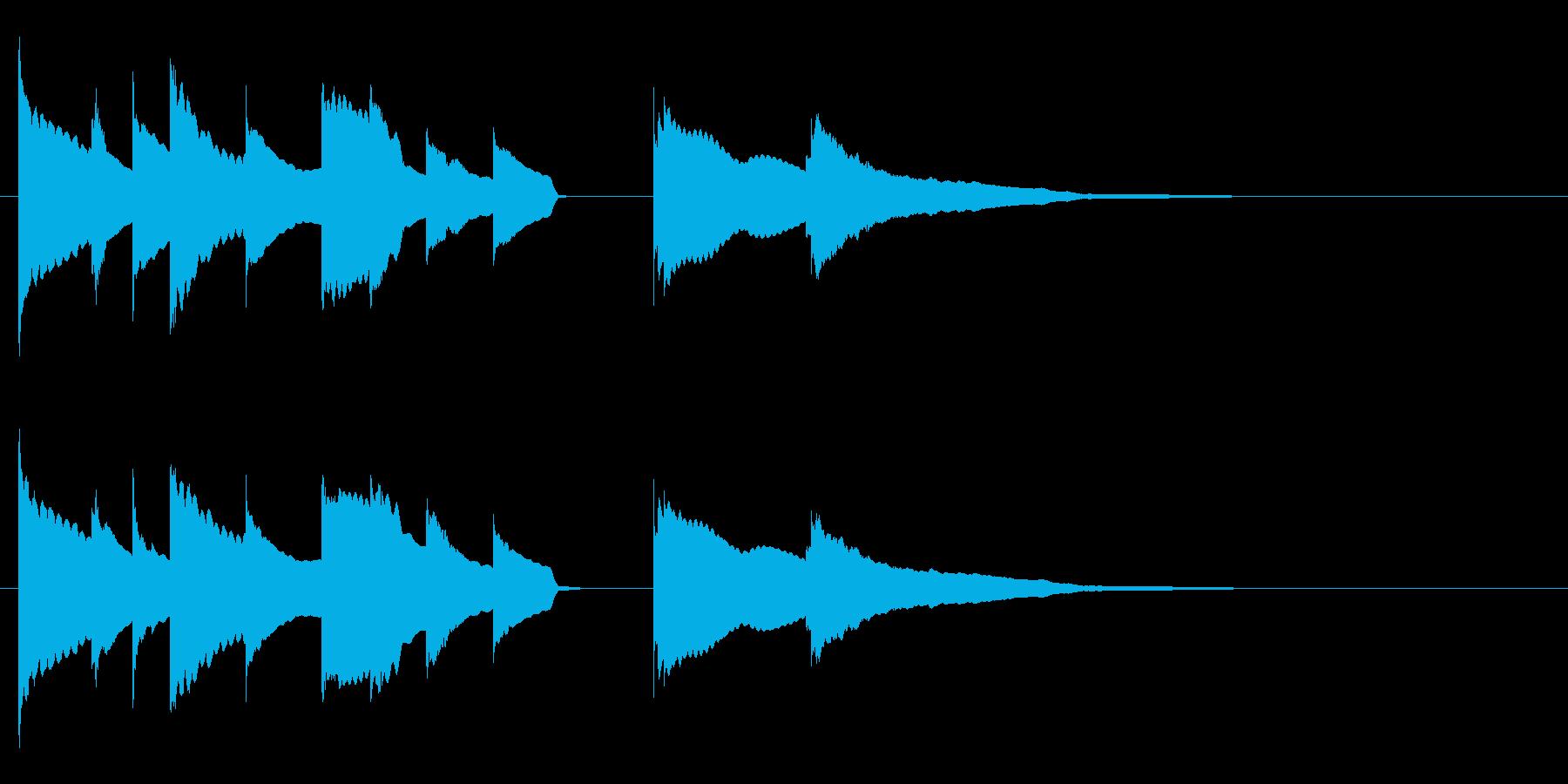 エンディング E. ピアノソロ おやすみの再生済みの波形