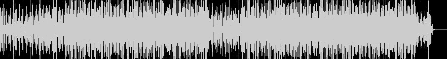 ファンキーなアコギリフによるCM曲の未再生の波形