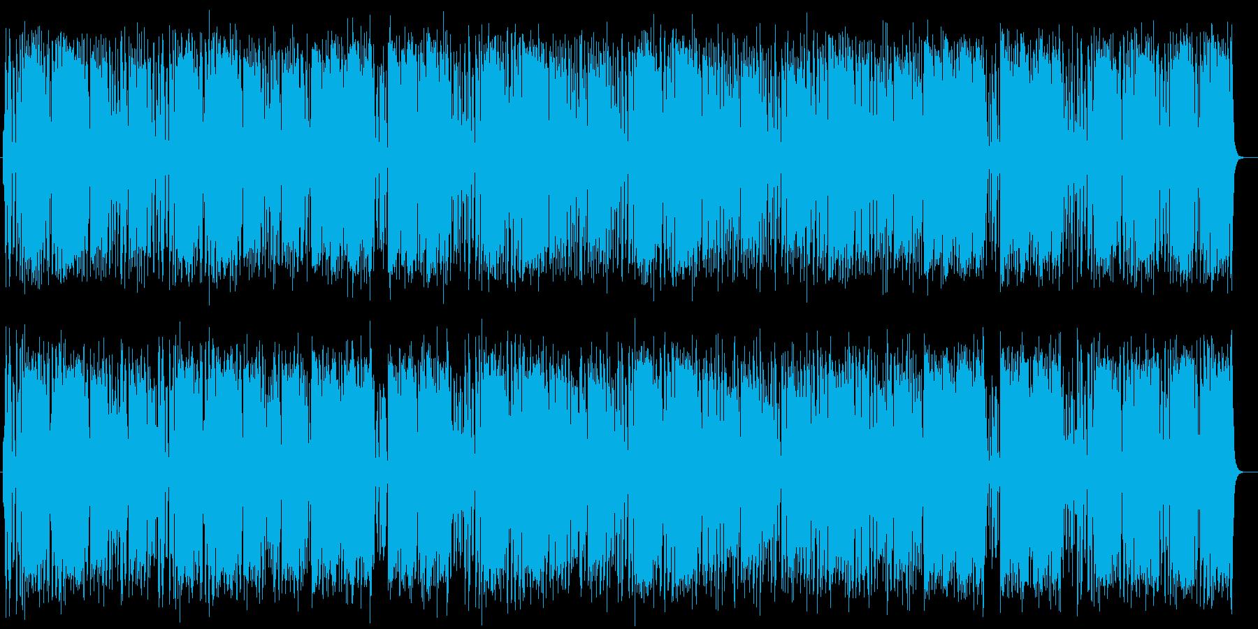 明るくはじける打楽器シンセサウンドの再生済みの波形