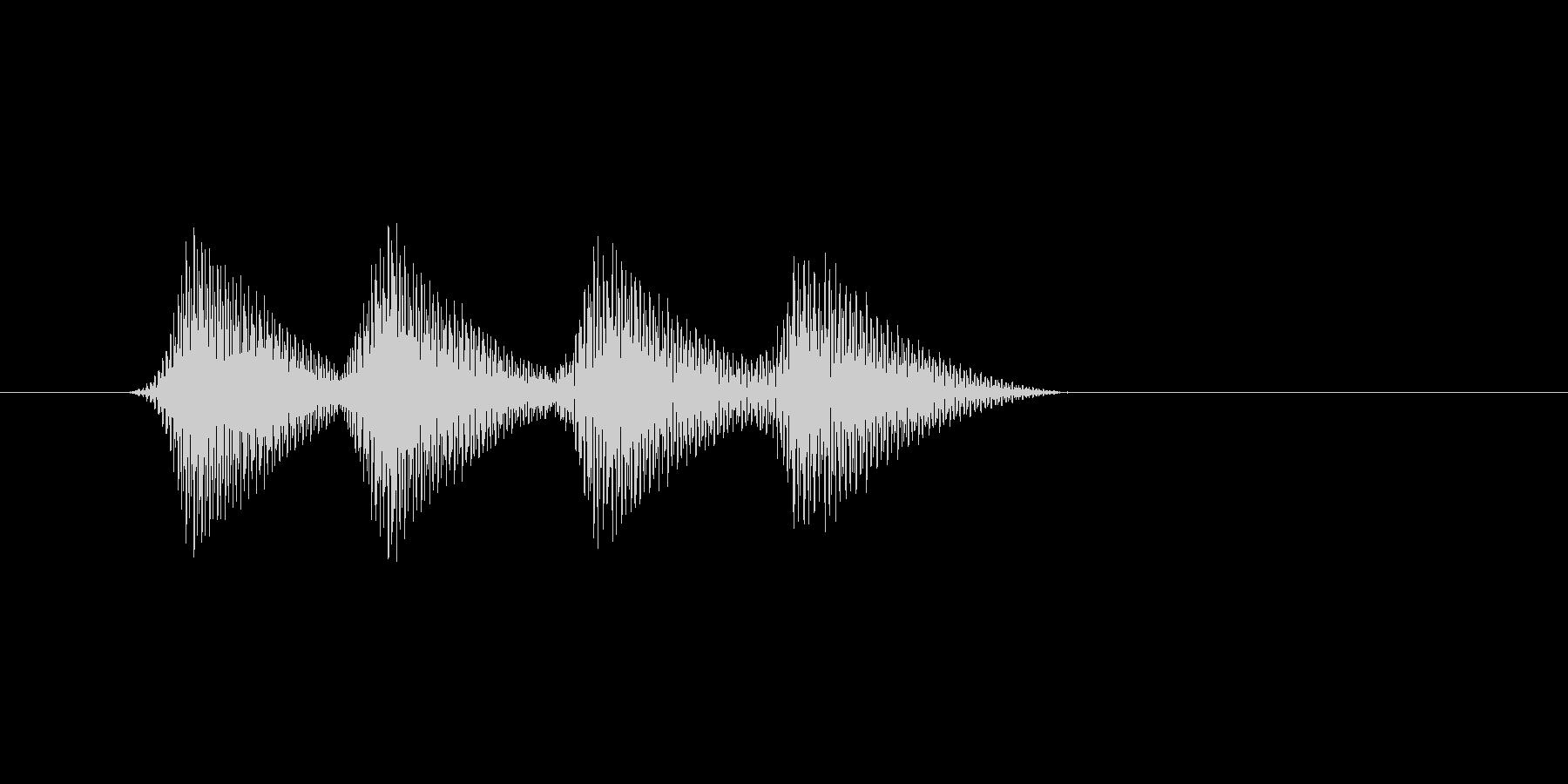 ファミコン風効果音 キャンセル系 15の未再生の波形
