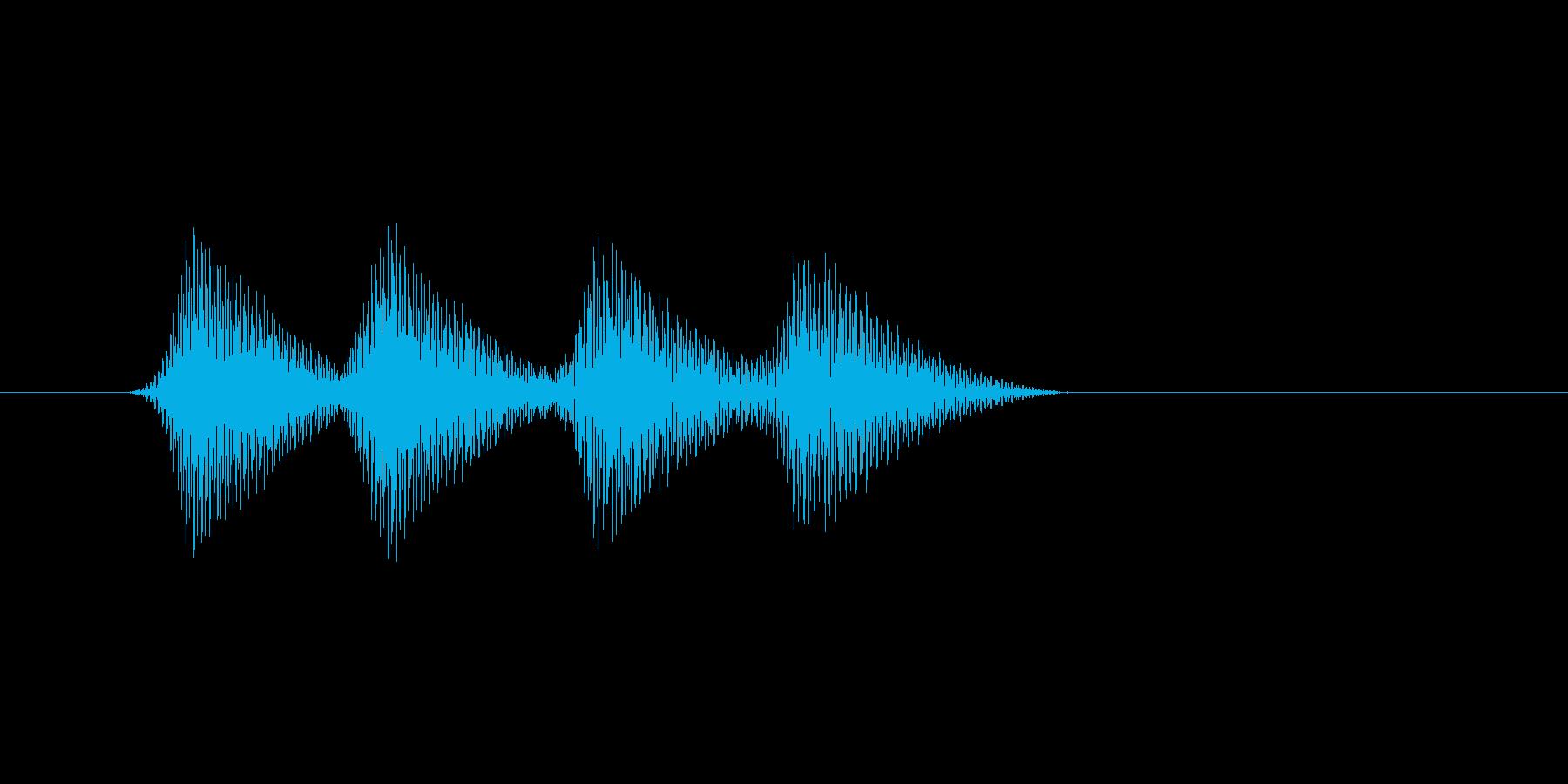 ファミコン風効果音 キャンセル系 15の再生済みの波形