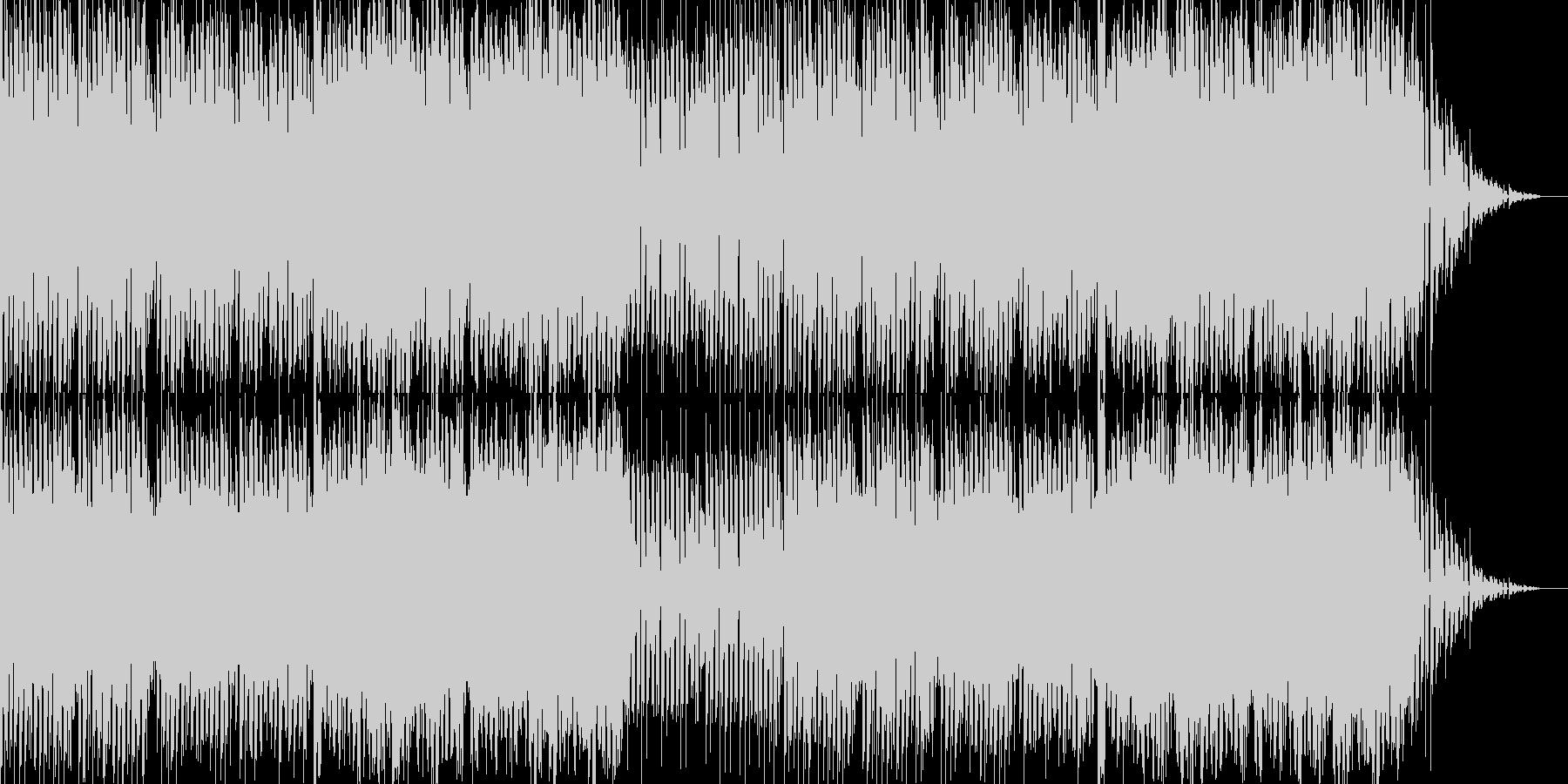 ポップス感の強いEDMです。の未再生の波形