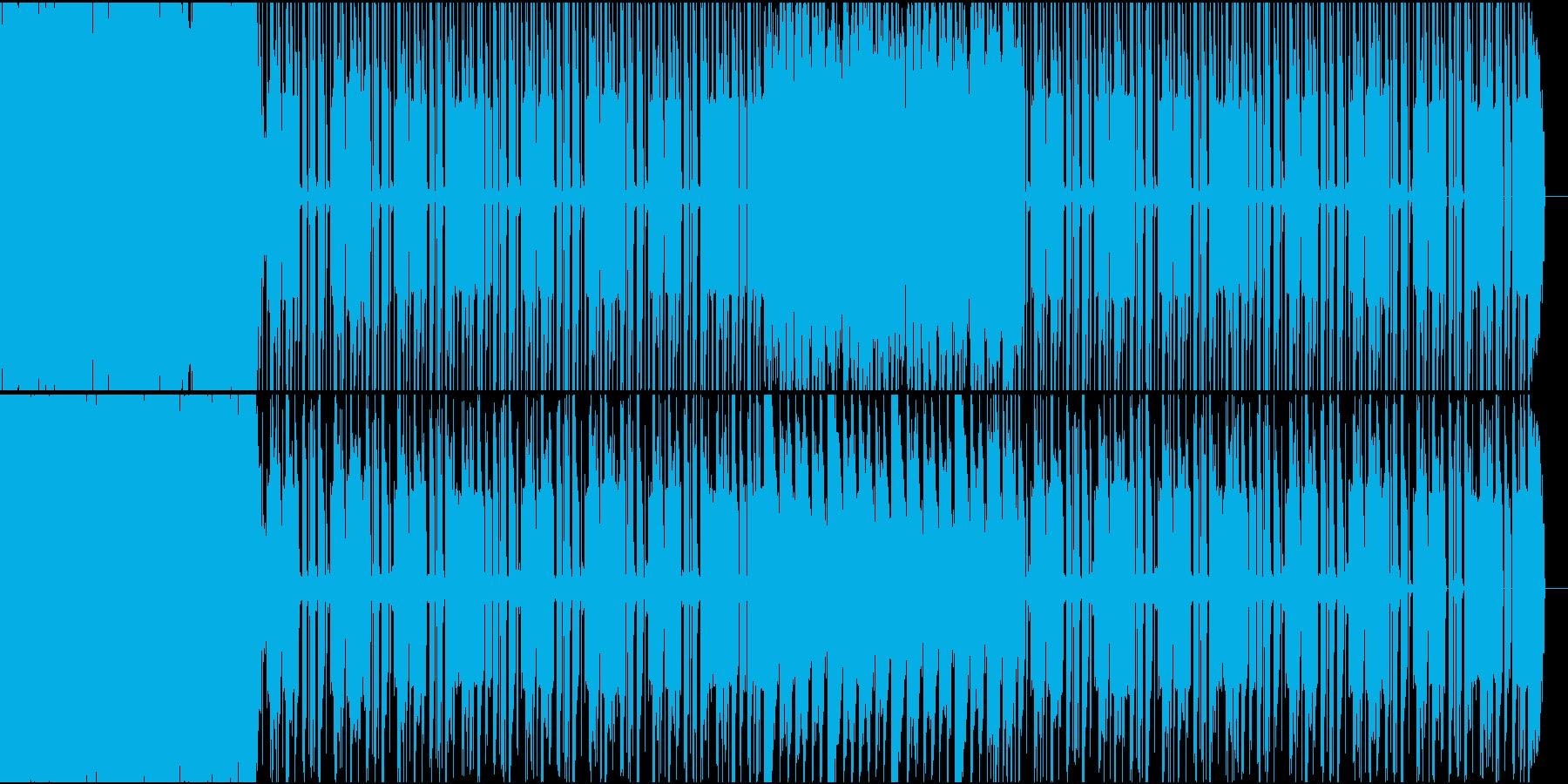 特徴的なシンセ音を使った可愛いポップ曲の再生済みの波形