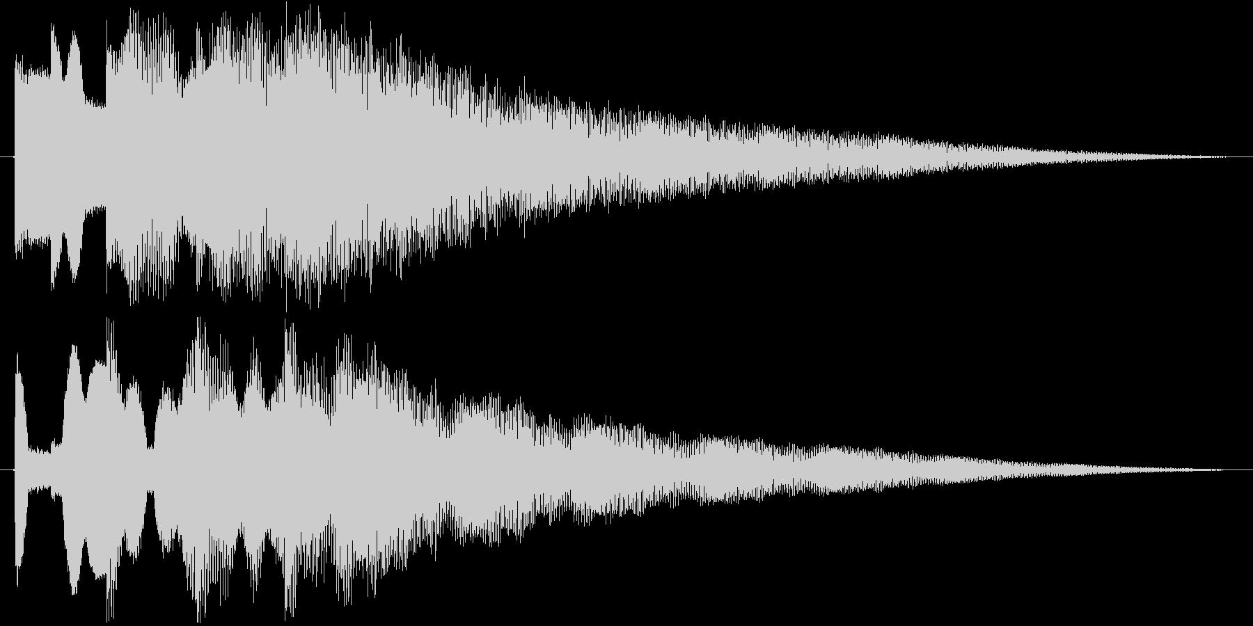 ティロティンティーティーン(ベル)の未再生の波形