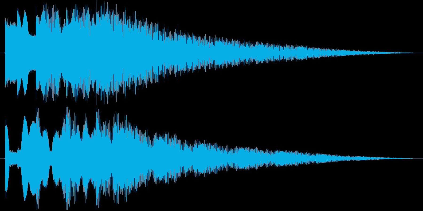 ティロティンティーティーン(ベル)の再生済みの波形
