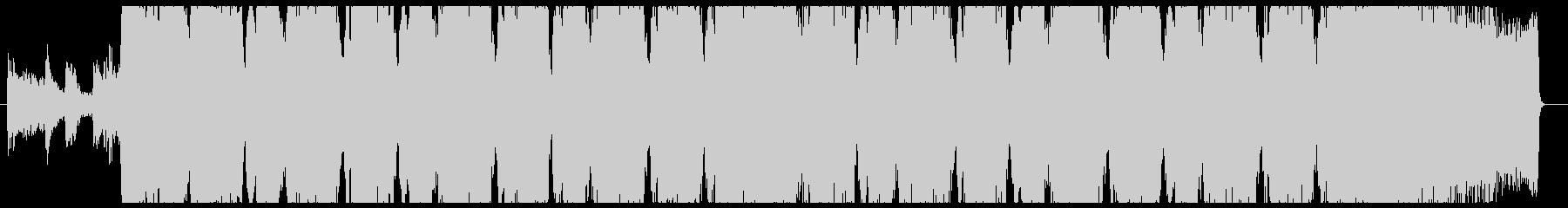 30秒ヘヴィギター&ダウンビートの未再生の波形