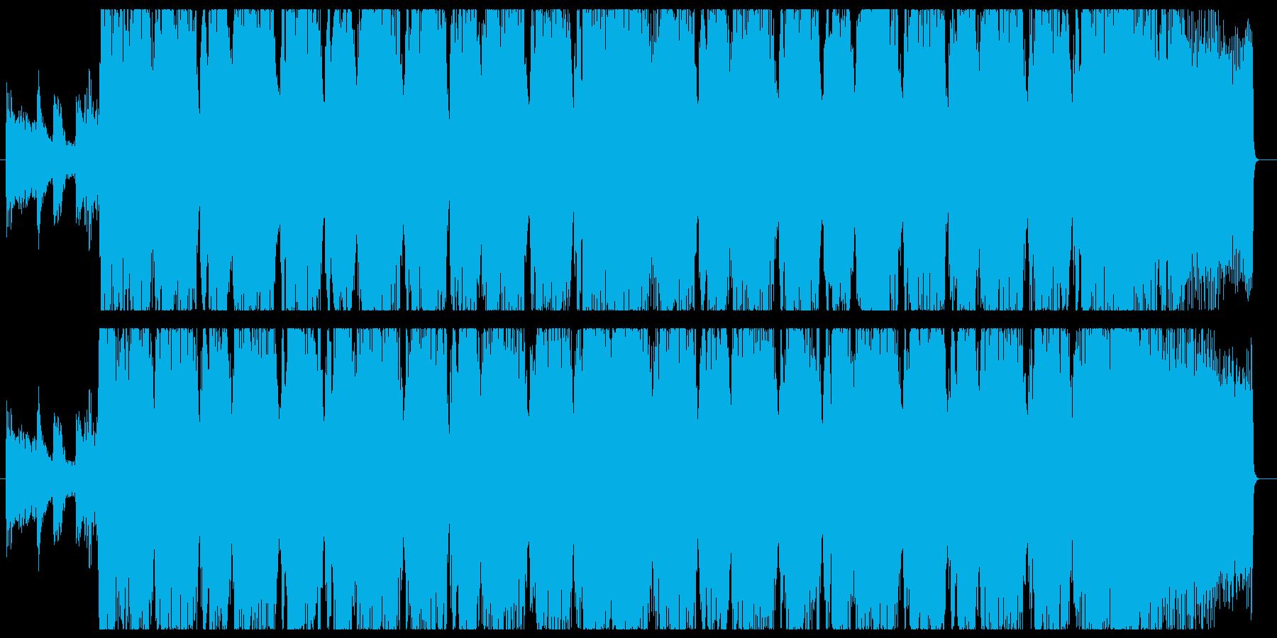 30秒ヘヴィギター&ダウンビートの再生済みの波形