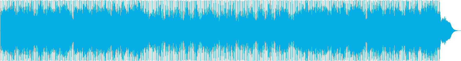 明るく、神秘的なシンセサイザーのポップの再生済みの波形