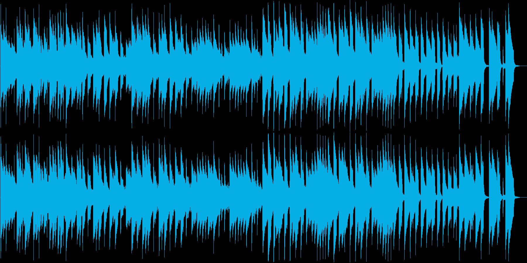 8bit コミカルなダークメルヘンBGMの再生済みの波形