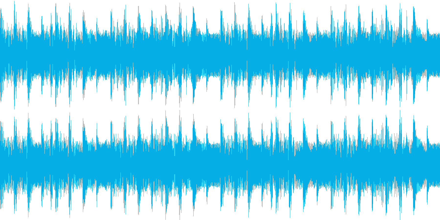LOOP①_90bpm_Key:Cの再生済みの波形