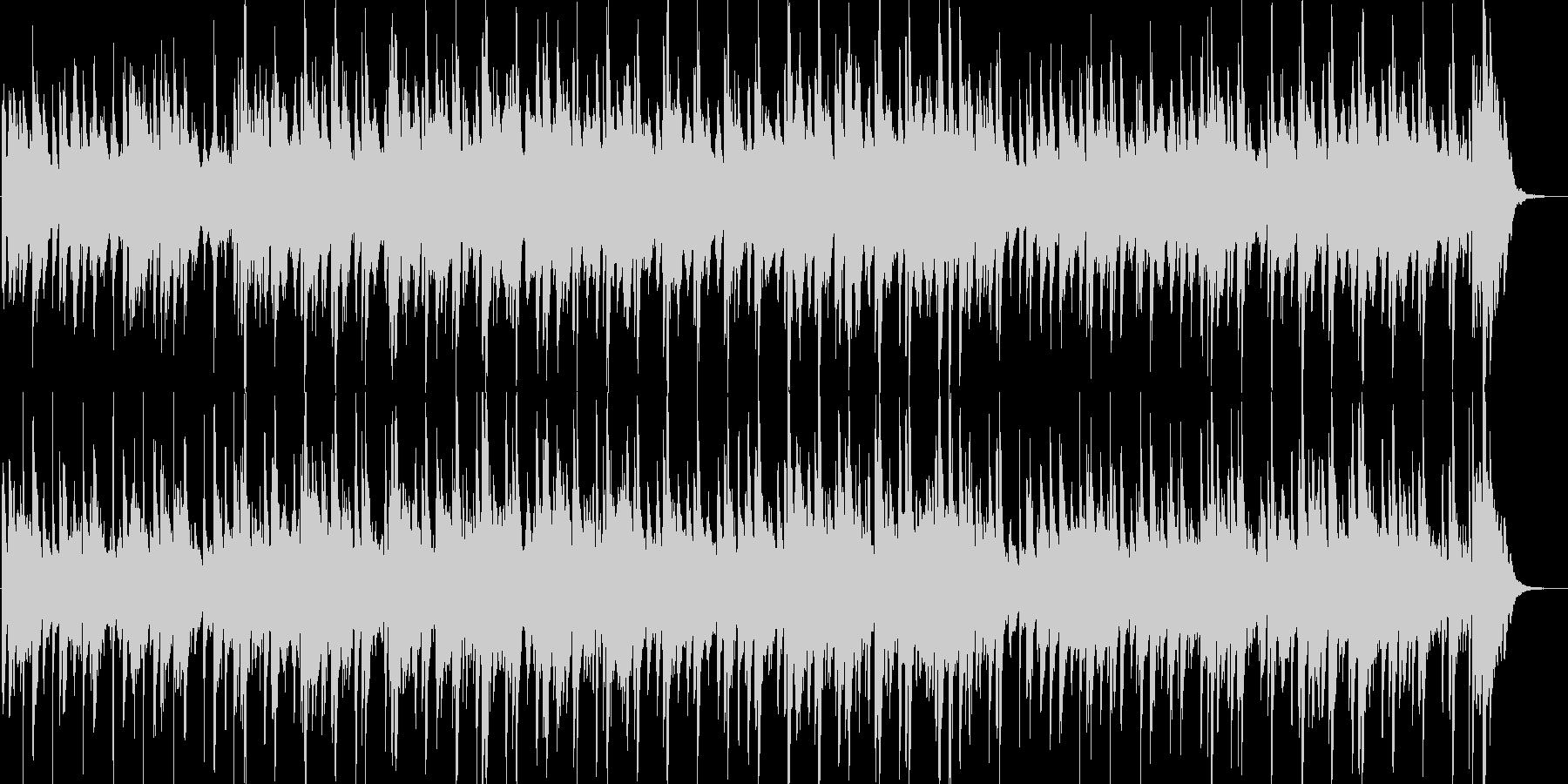 ゆったりとしたピアノのカントリーワルツの未再生の波形
