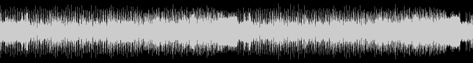 ループ・レトロゲーム風センチメンタルな曲の未再生の波形