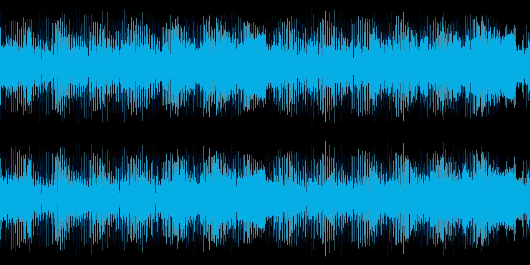 ループ・レトロゲーム風センチメンタルな曲の再生済みの波形