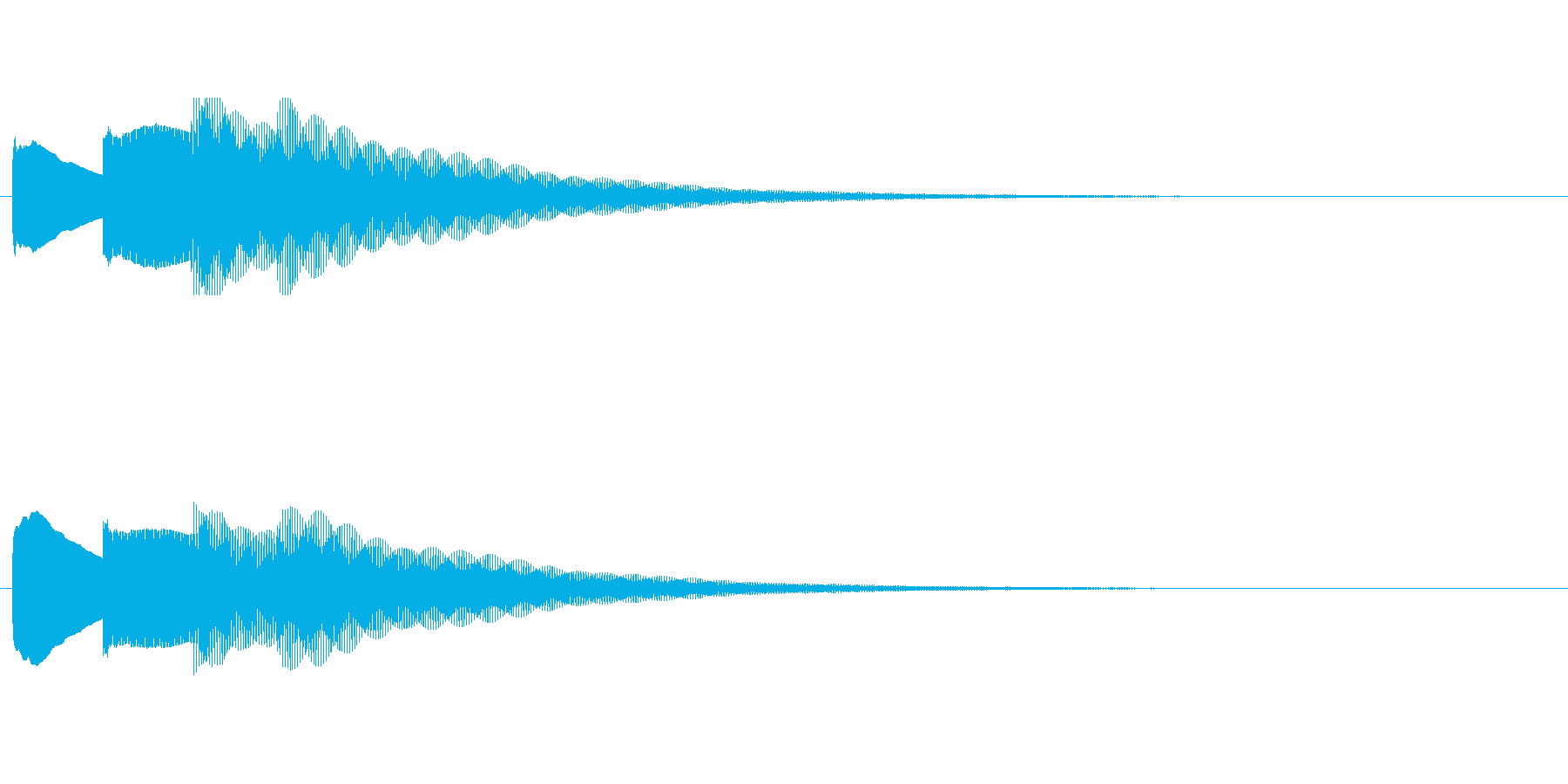 【チャイム アナウンス02-down1】の再生済みの波形