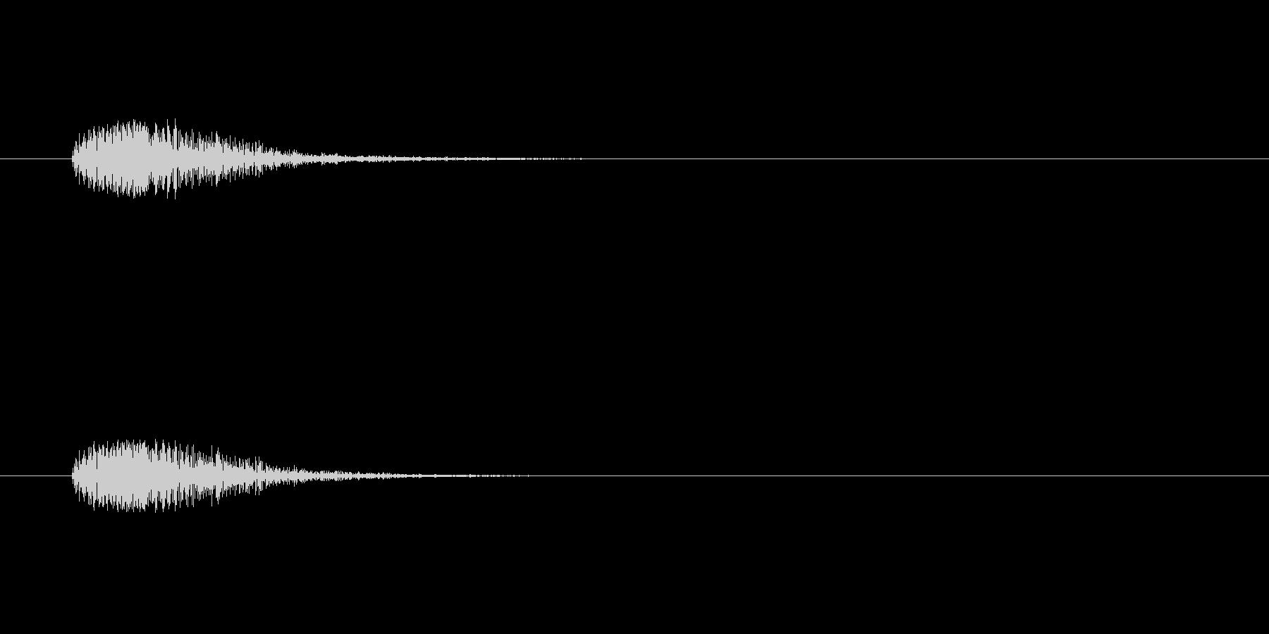 【カラス 合成01-6】の未再生の波形