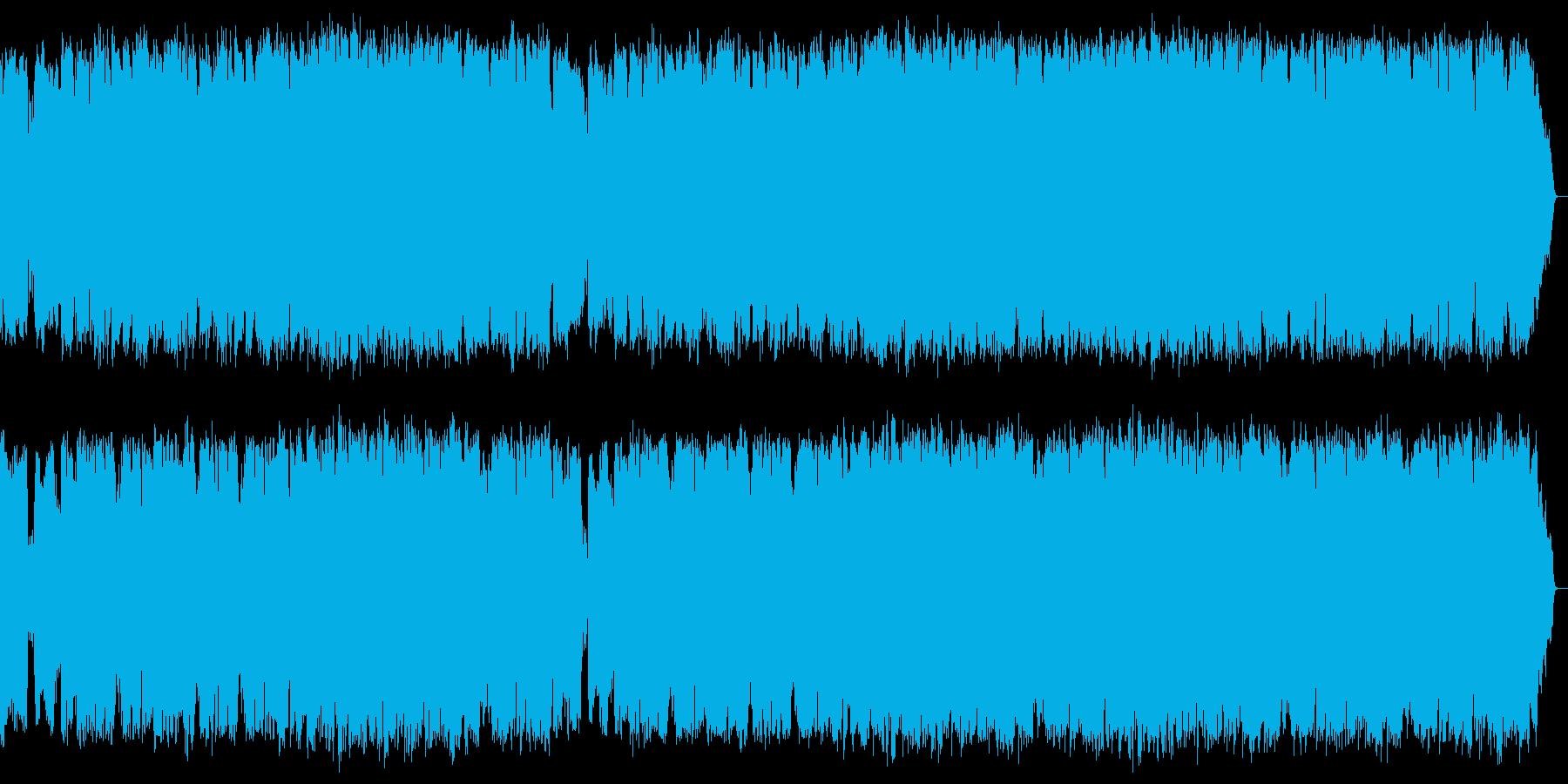 切ないサックスの旋律とピアノのアルペジオの再生済みの波形