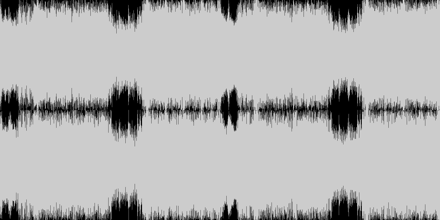 爽やかハイスピード系の曲<loop仕様…の未再生の波形