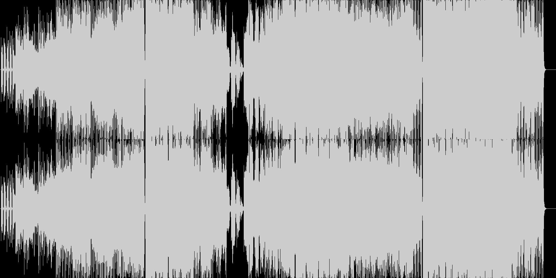 確かな一歩を踏み出す、そんな時にこの曲をの未再生の波形