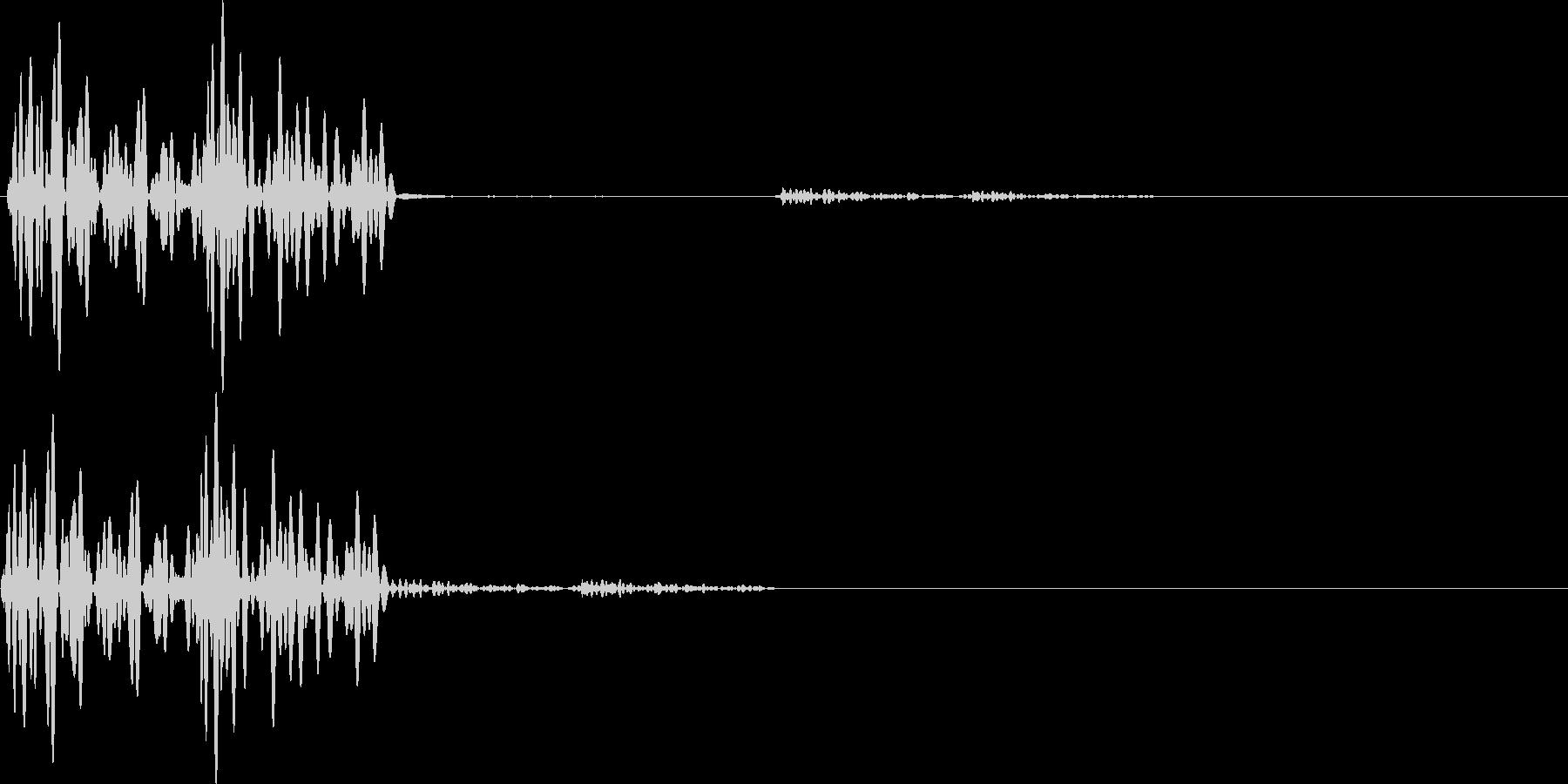 テテン(キャンセル、エラー、アラート)の未再生の波形