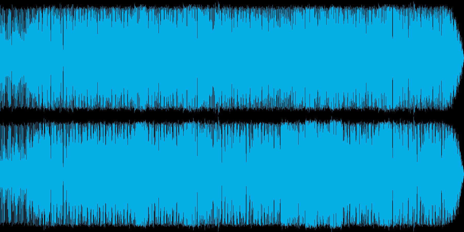 悪魔の苦悩をイメージしたポップスの再生済みの波形