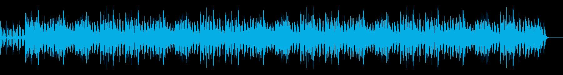 ほのぼのとしたサウンドの再生済みの波形