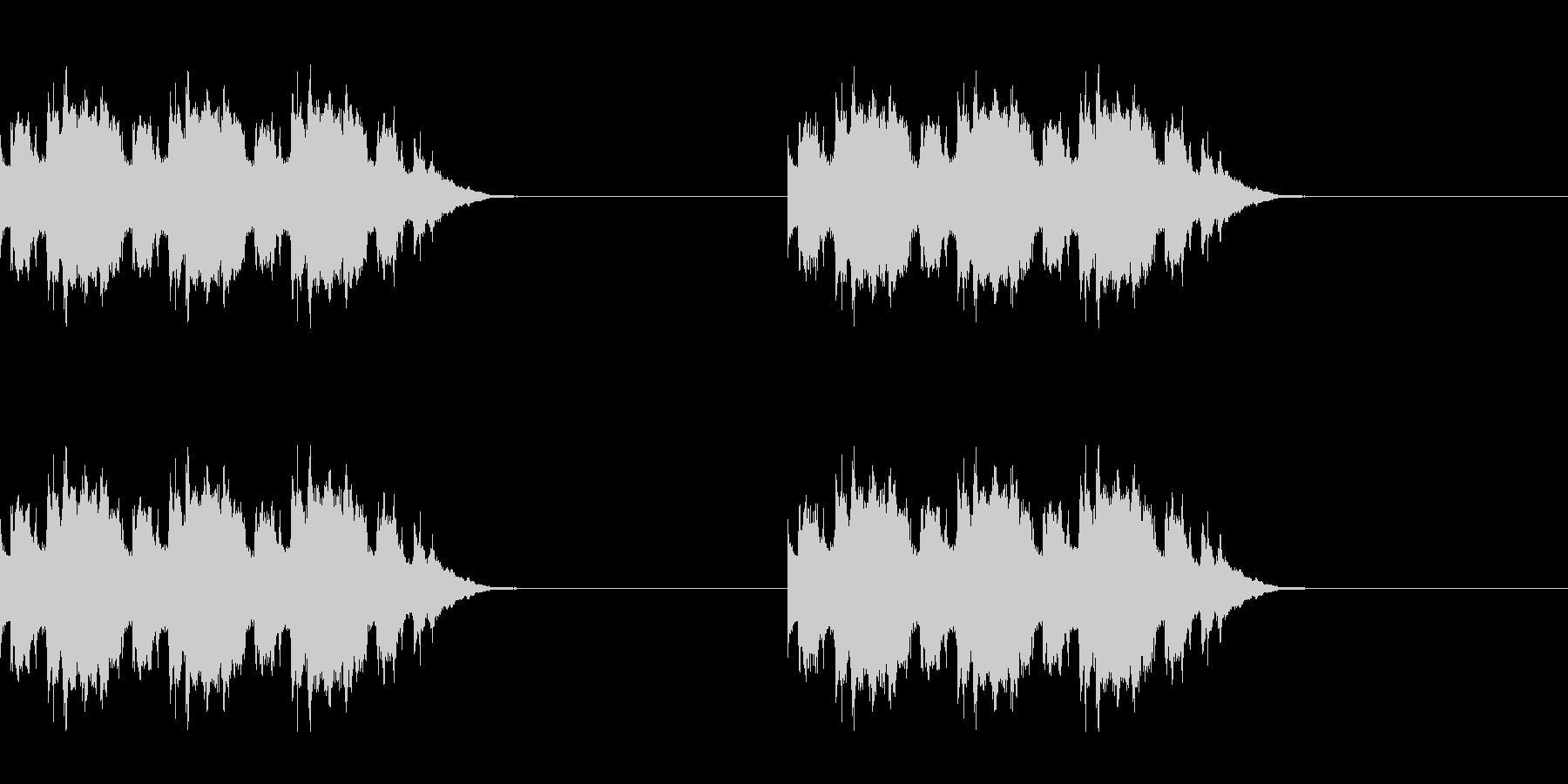 黒電話の着信音の未再生の波形