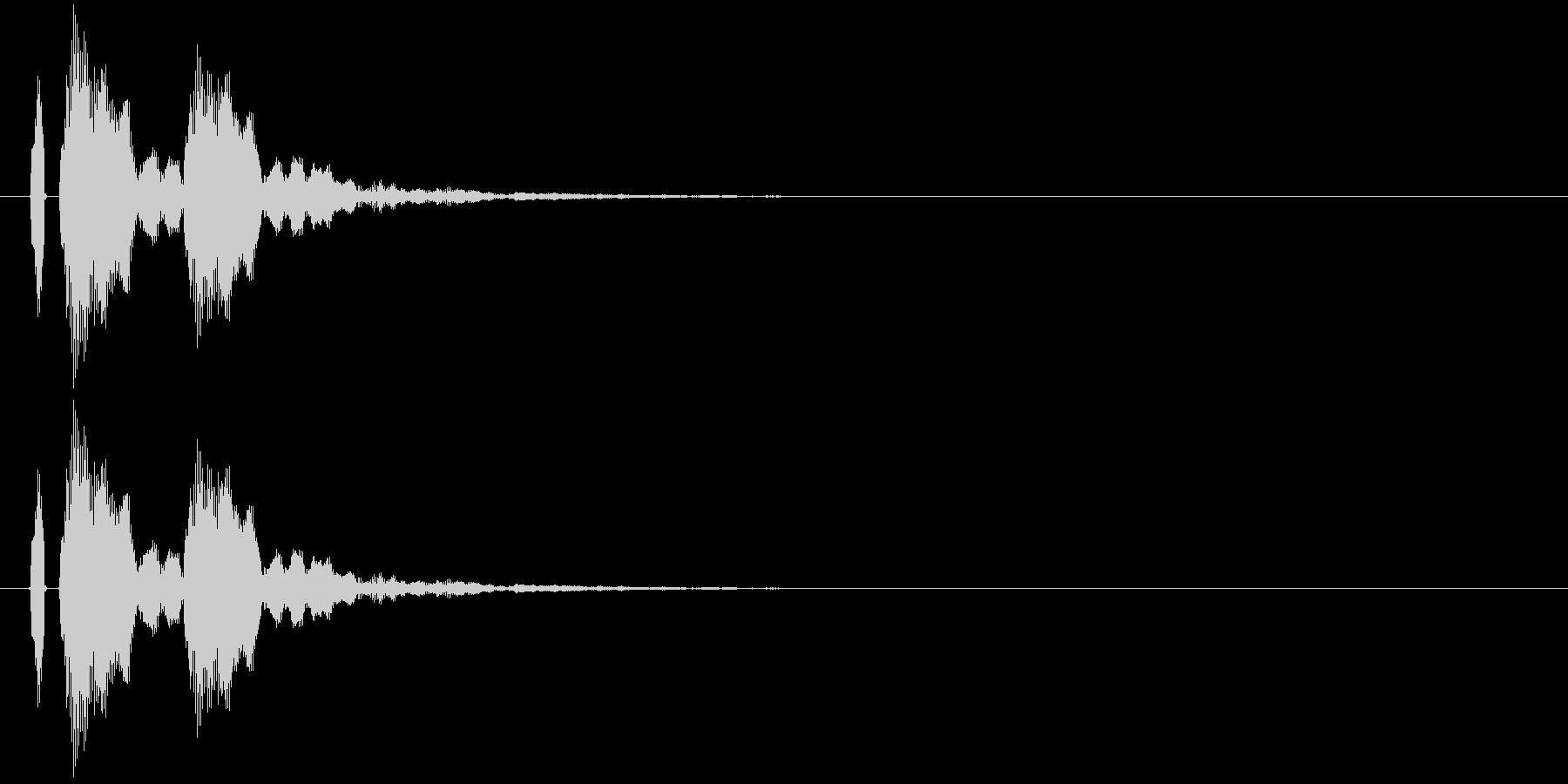 【ポポン!】とてもリアルな太鼓の鼓!11の未再生の波形