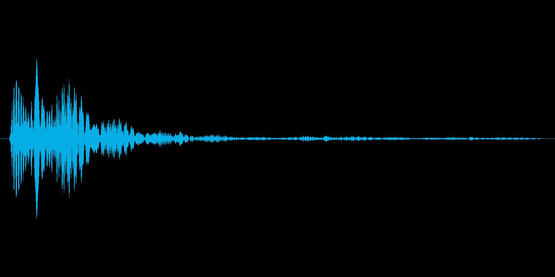 タップ.カーソル移動.クリック.決定10の再生済みの波形