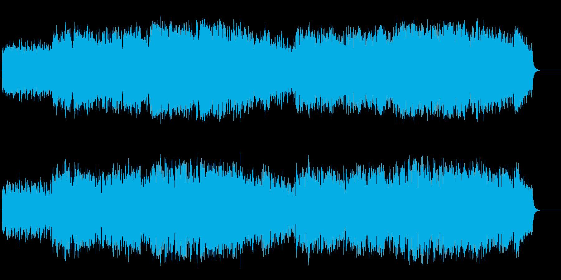 大自然を感じるおおらかなオーケストラの再生済みの波形